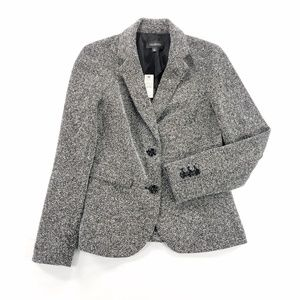 Talbots Blazer Peacoat Jacket PolyesterRayon Blend